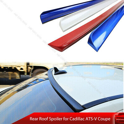 3M TAPE NO DRILL PAINTED REAR SPOILER FOR 2015-2019 CADILLAC ATS 2DR COUPE