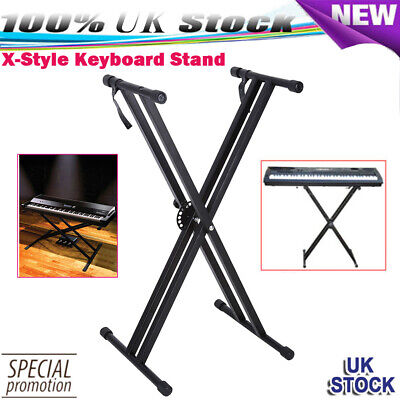 Electronic Piano X-Style Stand Music Keyboard Standard Portable Rack Adjustable