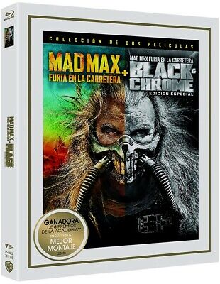 Mad Max : Furia En La Carretera + Black & Chrome (Ed. Especial) (Blu-Ray)  (Mad
