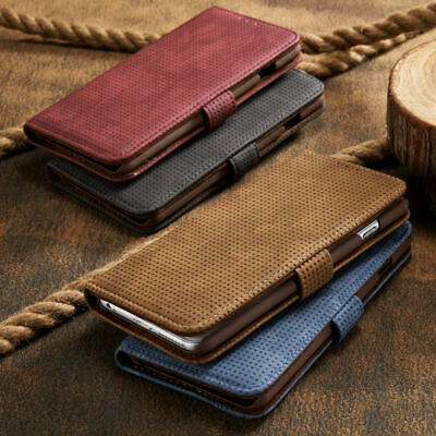 For iPhone 11 Pro Max Xs/X/Xr 8 7 6s Plus Stand Wallet Case Retro Leather Cover