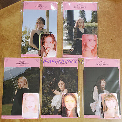 RED VELVET The ReVe Festival Finale SMTOWN GOODS LENTICULAR PHOTO CARD SET NEW