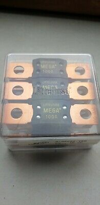 Litteifuse MEGA100A (10xpieces in a Box) BRAND New (factory closed)