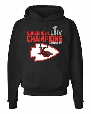 Kansas City Chiefs 2020 Super Bowl Hoodie LIV Champions - S-5XL FREE SHIPPING