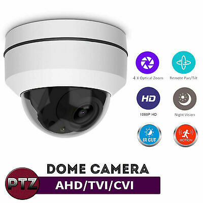 Full HD 1080P 2MP Camera Dome PTZ IP66 Outdoor CCTV Home Security IR Cam