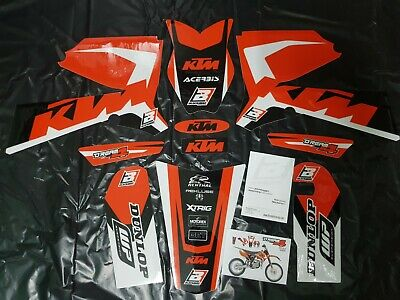 Kit Adesivi Grafiche Graphics Stickers Blackbird Ktm Sx 85 2011