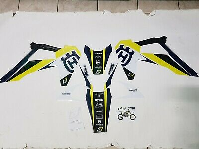 Kit Adesivi Grafiche Stickers Blackbird Husqvarna Tc 250 2019 2020