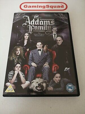 The Addams Family DVD, Supplied by Gaming Squad