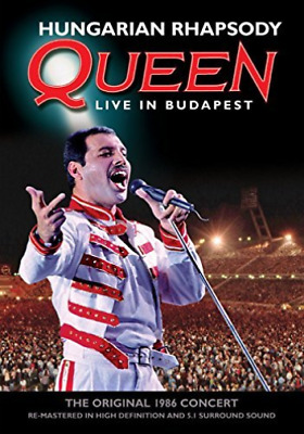 Queen: Hungarian Rhapsody - Live in Budapest DVD NUOVO
