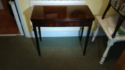 Lovely Vintage Folding Card Table