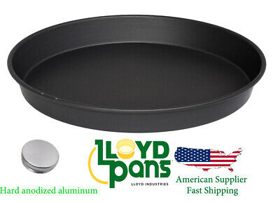 Professional 11 14 Inch  Deep Dish Pan Pizza Hard Anodized Aluminum us stock