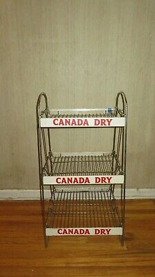 Great Vintage Antique Canada Dry Store Display Crate Size Shelves