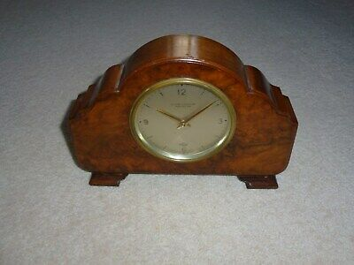 Antique Elliott Mantle Clock Ollivant & Botsford Manchester Fully Working
