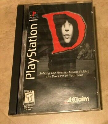 D 3 disc set in case w/ manual COMPLETE in long box Sony PlayStation 1 PS1