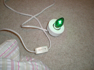 1 Light for Christmas Village Light Buildings with on/off Switch White Cord-#3