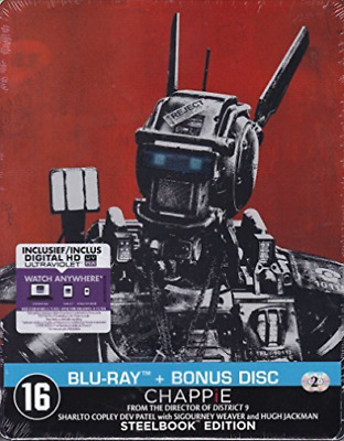 Chappie - Limited Edition (MetalCase) - BLU-RAY NUEVO