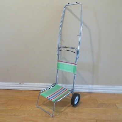 Vintage Seagull Folding Child Lawn Chair Stroller or Grocery Cart Shanghai China