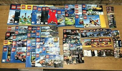 Big Mixed LEGO Joblot Bundle Instruction Manual Booklets Star Wars, City + More