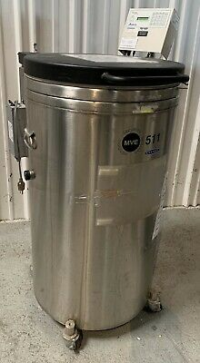 MVE 511F Liquid Nitrogen Cryogenic Storage Tank w/ TEC 2000 USED