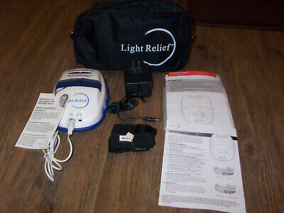 USED Light Relief LR150 w/ Light Pad Infrared Joint Muscle Pain Therapy Device