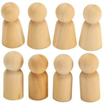 Wooden People, Set of 8