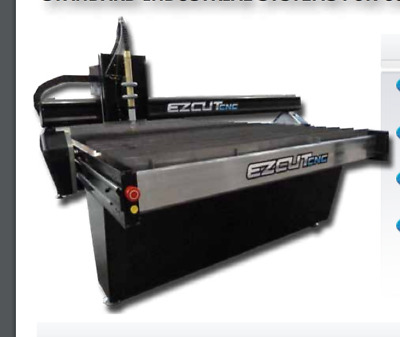 Ez Cut Cnc 4X8 Table 4800 Series With Hypertherm Powermax 85 And Down Draft
