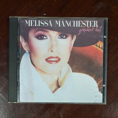 Melissa Manchester Greatest Hits Early Japan for US CD Pressing Arista 1983