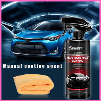 Shine Armor Ceramic Spray Coating Car Polish Spray Sealant Nano Protection 500ML