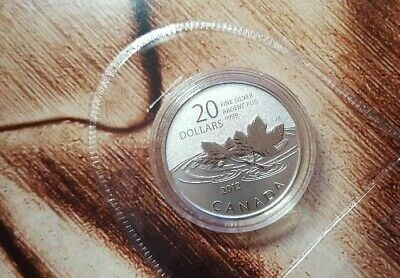 $20 for $20 Fine Silver Coin ~ Farewell to the Penny ~ Canadian Mint ~ 2012
