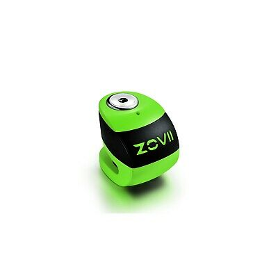 ZOVII (ZS6) Motorcycle Alarmed Disc Lock - Green