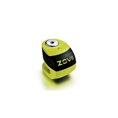 ZOVII (ZS6) Motorcycle Alarmed Disc Lock - Yellow