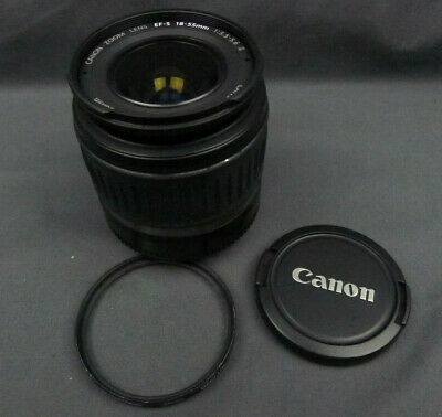 Used CANON ZOOM LENS EF-S 18-55MM 1:3.5-5.6 II