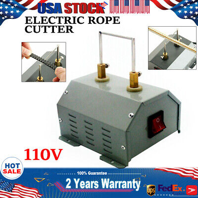 NEW 110V Electric Rope Cutter--Hot Knife Thermal Blade for Braid Fabric(US Stock