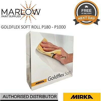 200 Sanding Pads Mirka Goldflex P600 Grit Perforated Roll