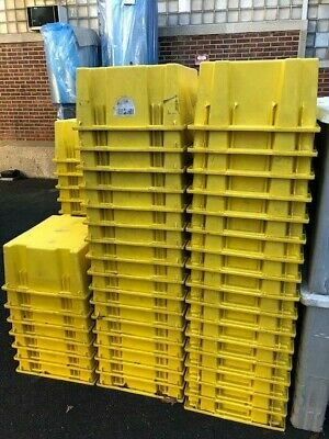 "STACK AND NEST CONTAINER 23.5"" x 19.5"" x 10"" USED GOOD CONDITION"