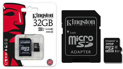 Kingston Micro SD 32GB Class 10 UHSULTIMO MODELLO  Memoria
