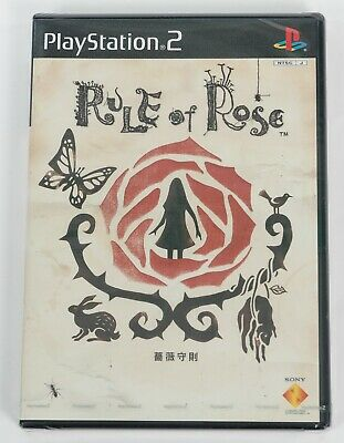 Rule of Rose - Sony PlayStation 2 PS2 NTSC-J Asia Version - New & Sealed