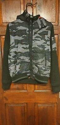 Next Kids Boys Jacket Military Size 12 Years Black