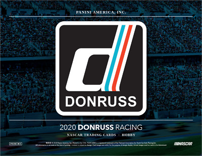 IN STOCK 2020 Panini Donruss Racing Factory Sealed Hobby Box 3 Hits with 1 AUTO!