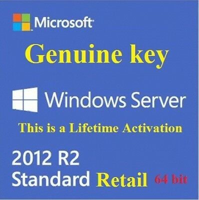 [KEY] Windows Server 2012 R2 Standard Edition Retail - INSTANT DELIVERY