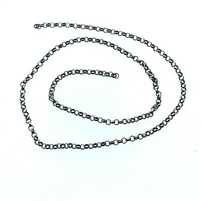 Vintage 9ct Gold Length Chain Jewellery Repairs 280 mm Long 2 mm wide 1.69g