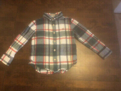 Joules Boys Checked Cotton Shirt Aged 6 Excellent Conditon