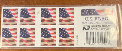 USPS Books/sheets of 20 US Flag Forever Stamps