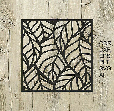 Panel 008, Vector files for cnc, digital files cdr, dxf, eps, ai, svg, plt