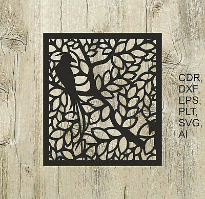Panel 011, Vector files for cnc, digital files cdr, dxf, eps, ai, svg, plt