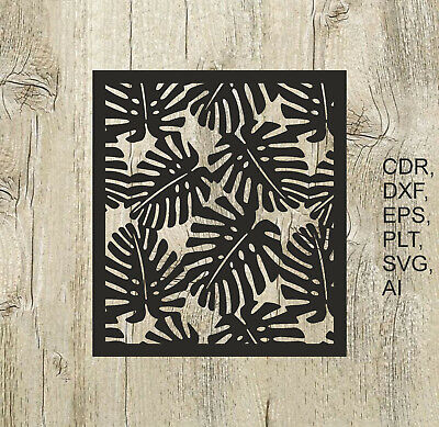 Panel 012, Vector files for cnc, digital files cdr, dxf, eps, ai, svg, plt