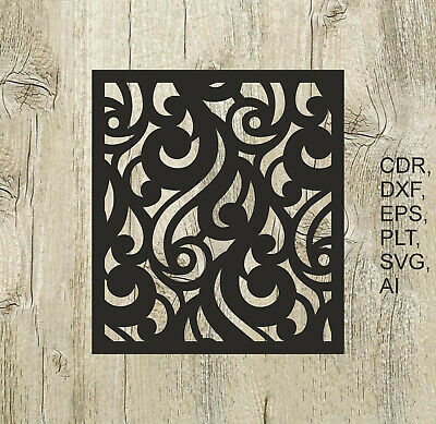 Panel 014, Vector files for cnc, digital files cdr, dxf, eps, ai, svg, plt