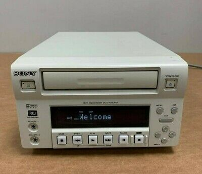 Sony DVO-1000md Professional Medical DVD Recorder - TESTED