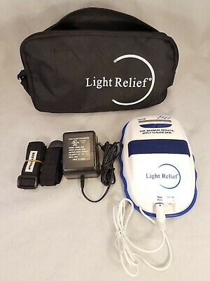 Light Relief Elite LR150 Infrared Pain Therapy Device + Straps