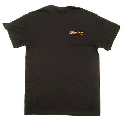 Four Queens Hotel & Casino Embroidered T Shirt Las Vegas