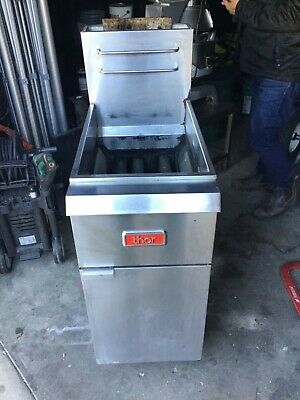 Thor Commercial tube fryer natural gas
